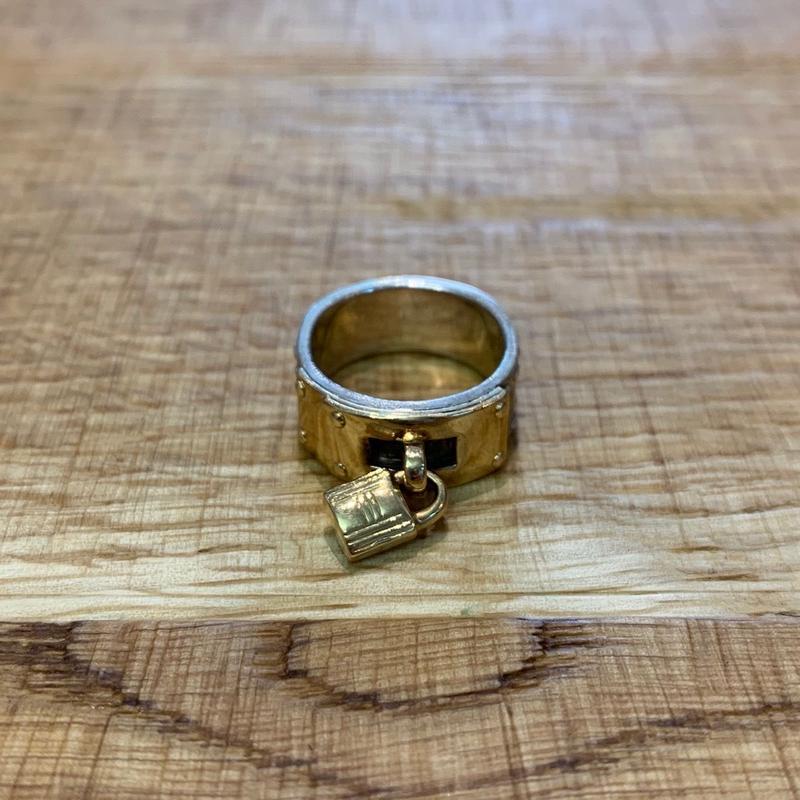 Hermès Vintage(エルメス ヴィンテージ)Stering Silver & 18k Gold Ring【SS19-VH07】(N)