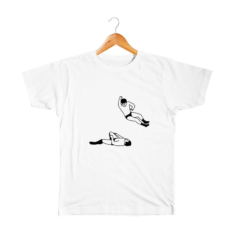 エルボードロップ キッズTシャツ