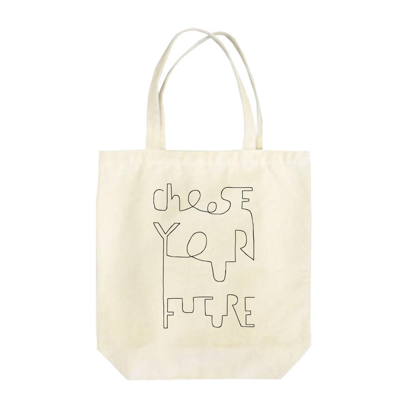 Choose your future トートバッグ