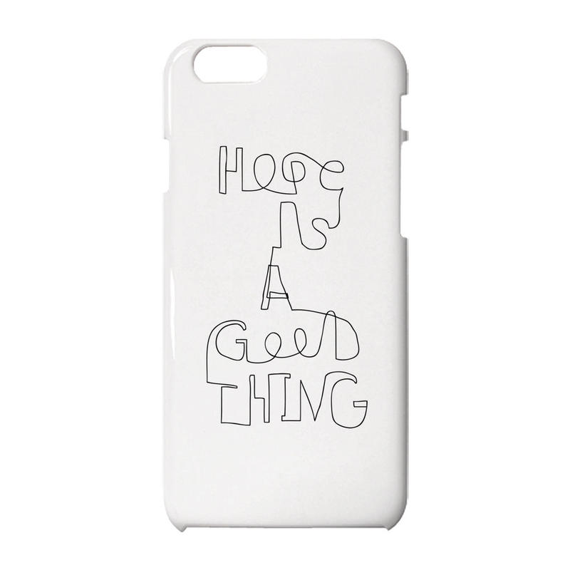 Hope is a good thing iPhoneケース