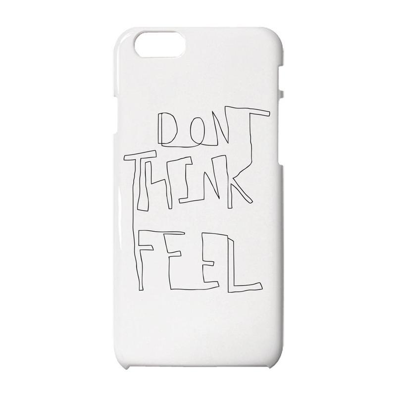 Don't think, feel iPhoneケース