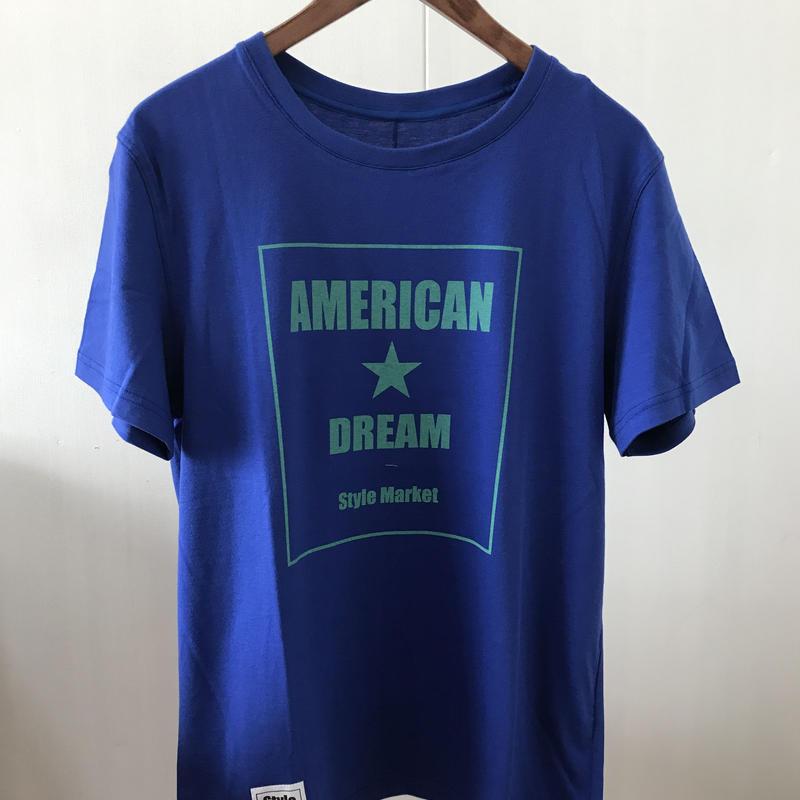 AMERICAN DREAM TEE/BLUE