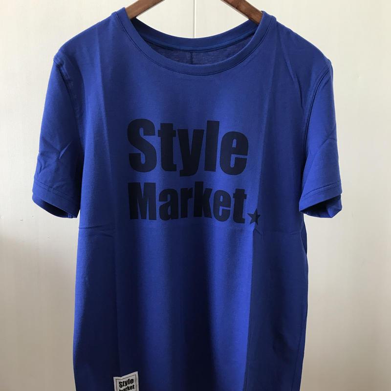 STYLE MARKET TEE/BLUE