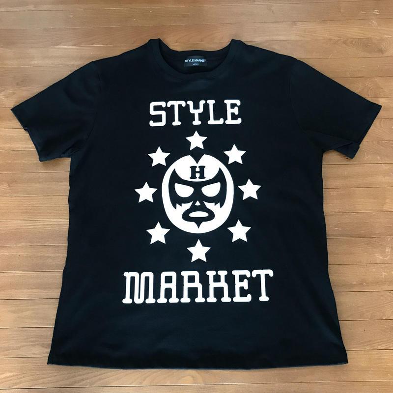 MASK-MAN / BLACK TEE