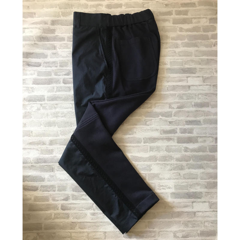 LINE PANTS / NAVY