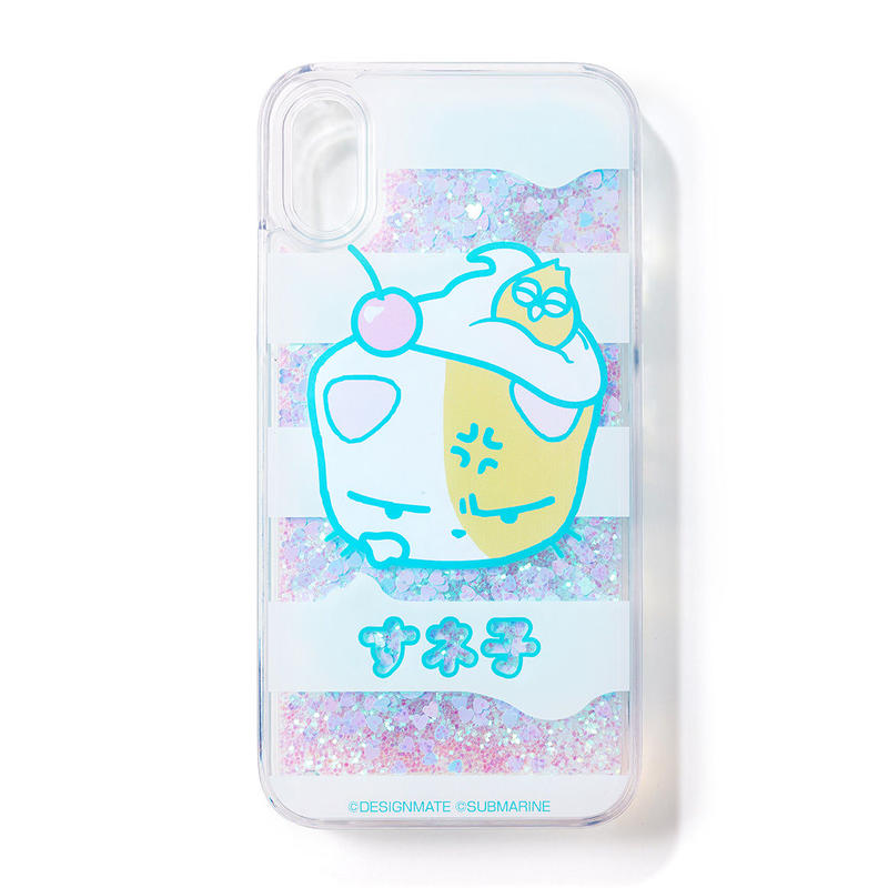 すネ子グリッターiPhoneケース | iPhone X Glitter Case | Carcasa de Purpurina iPhone X