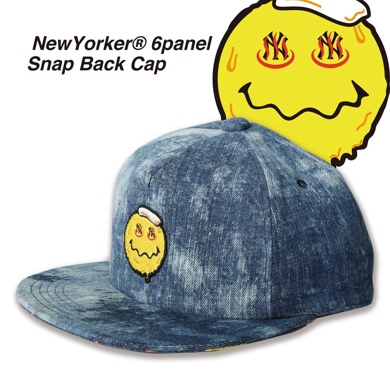 NewYorker Denim 6panel SnapBack Cap