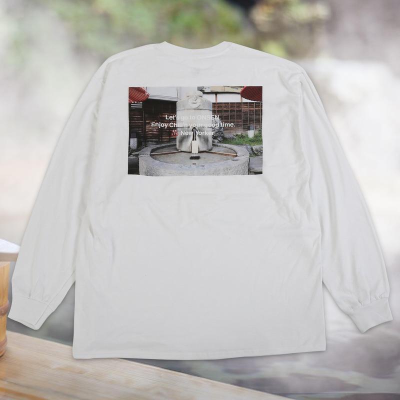 ONSEN Photo L/S T-shirts