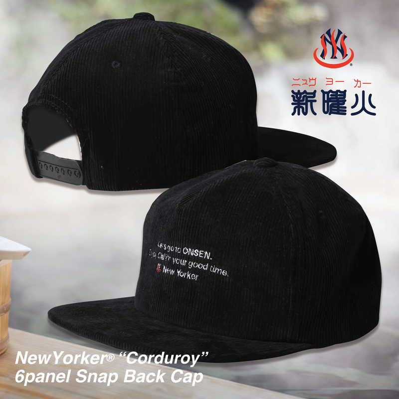 NewYorker 6 Panel Snap Back Cap