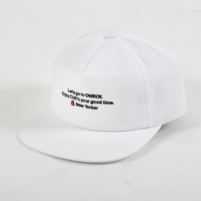 New Yorker 6panel Snap Back Cap