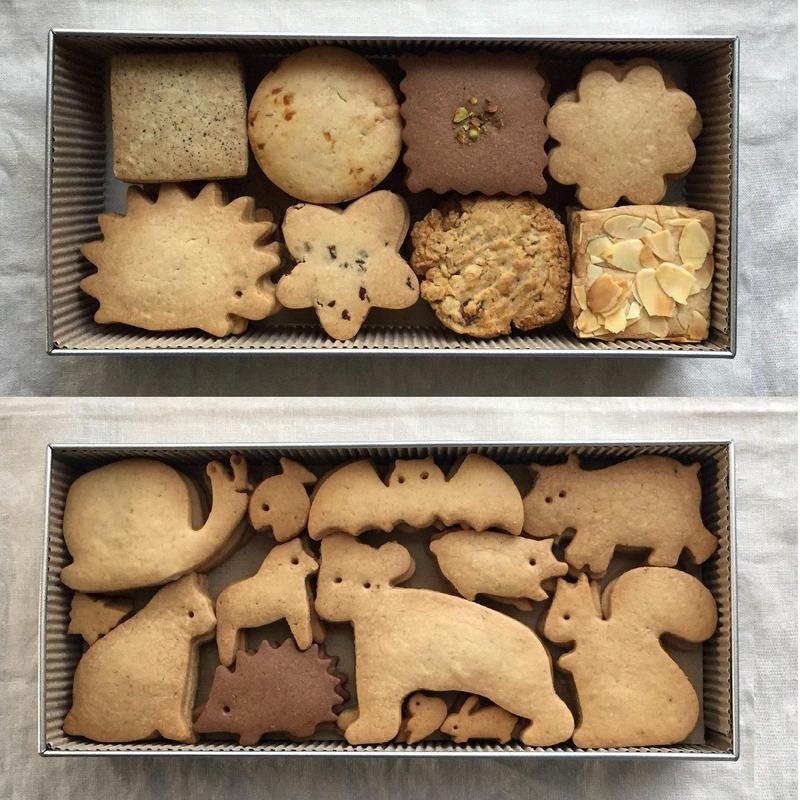 クッキー缶詰合 toridori / animal