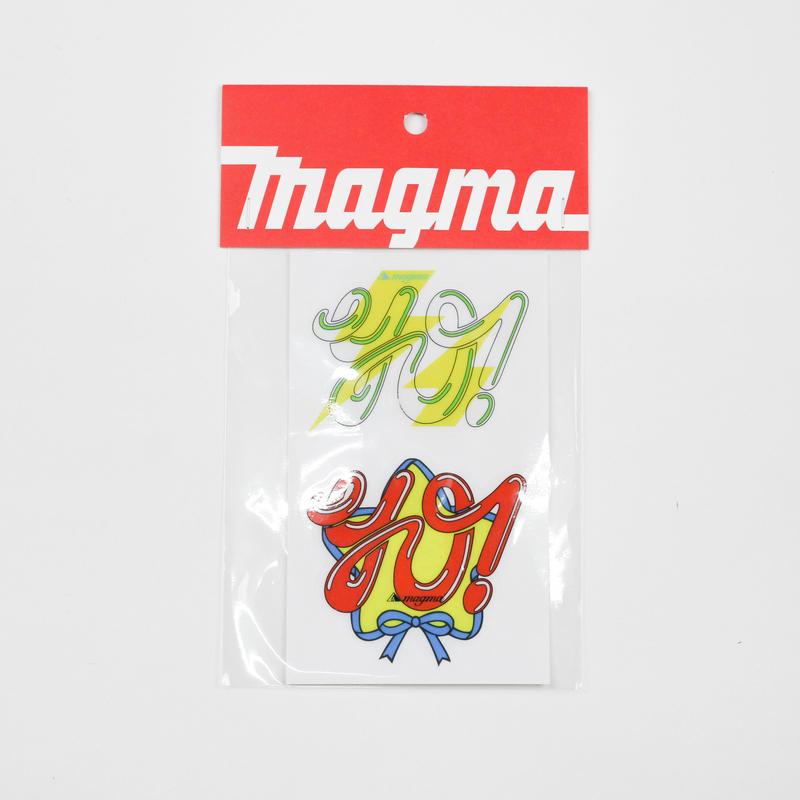 magma STICKER | yo!