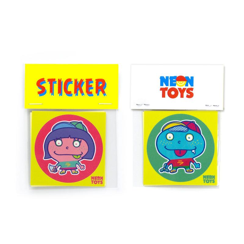LUCKY BOY&GIRL_STICKER