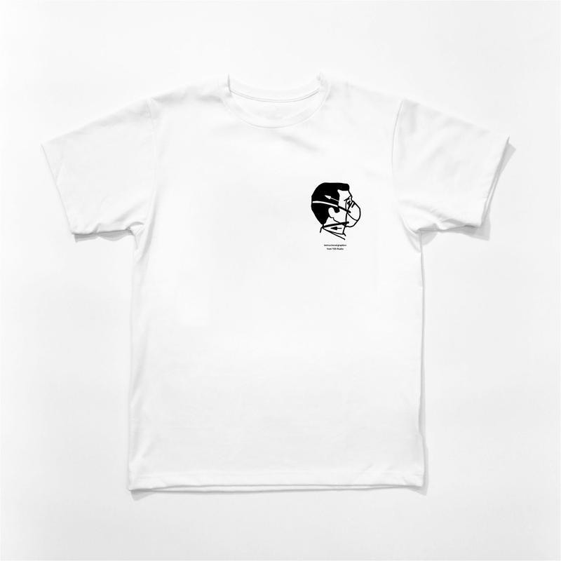 シルクスクリーン 手刷りTシャツ US Champion BODY