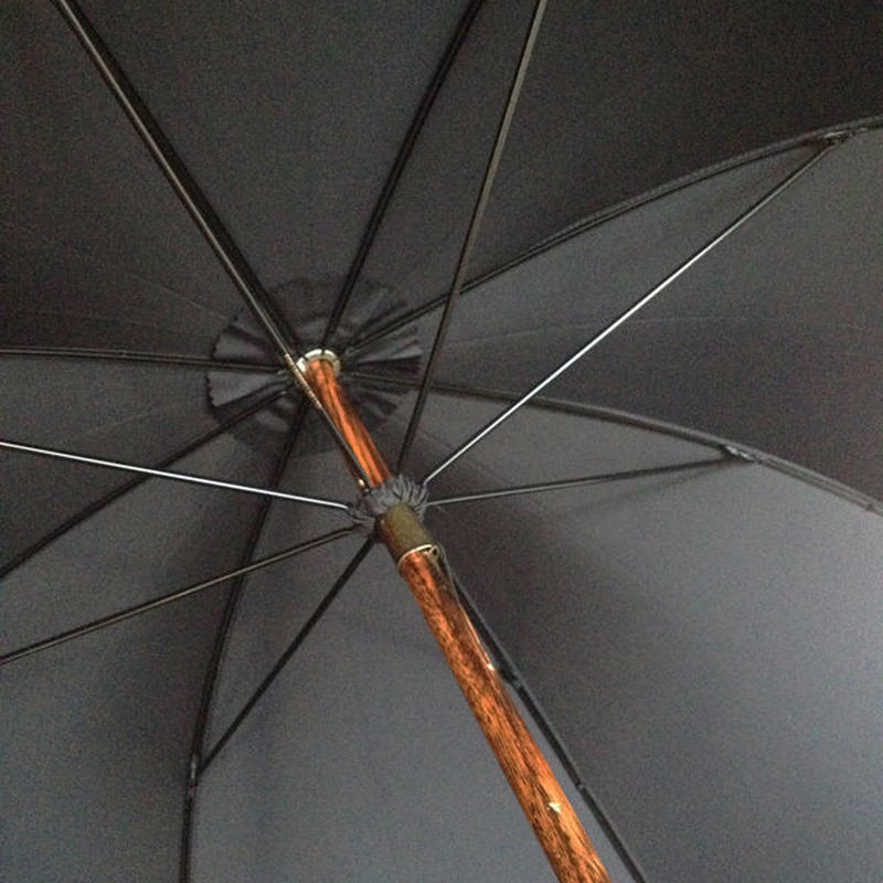Fox Umbrellas Solid Hickory