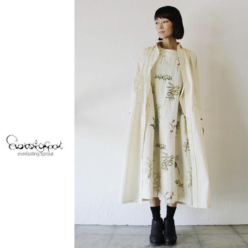 Everlasting Sprout エバーラスティングスプラウト 果実刺繍のワンピース ♯ホワイト、ネイビー 【送料無料】