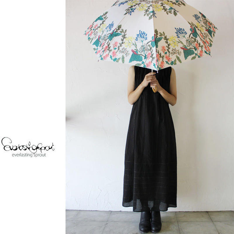 Everlasting Sprout エバーラスティングスプラウト 植物花園の長傘(晴雨兼用) 【送料無料】