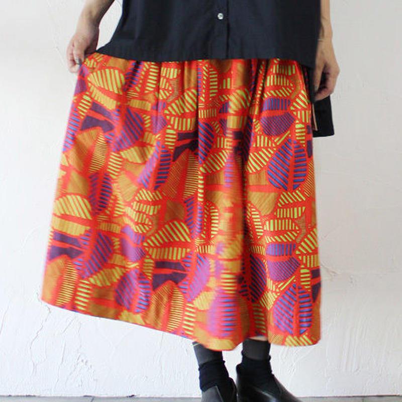 Tigre Brocante ティグルブロカンテ バイマイコードストライプポケットフィセルスカート ♯レッド、スミクロ【送料無料】