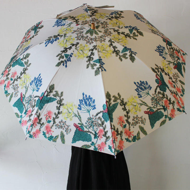 Everlasting Sprout エバーラスティングスプラウト 植物花園の折りたたみ傘(晴雨兼用) 【送料無料】