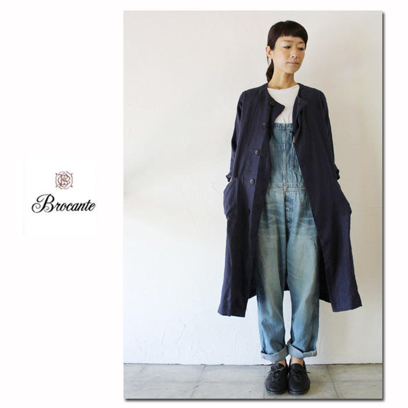 Brocante ブロカント 10ozデニムサロペット オーバーオール ♯加工 【送料無料】