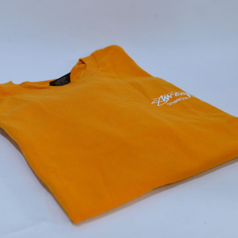STUSSY Sp18 Smooth Stock Amsterdam Tee / Apricot