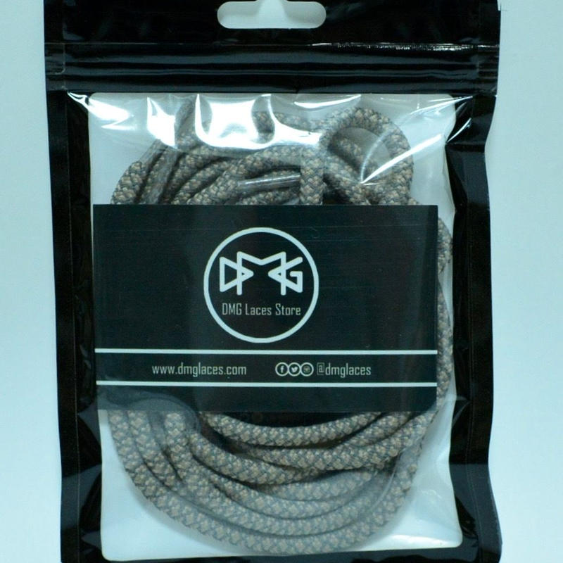 "DMG laces 3M shoe lace ""TAN"" 120cm"