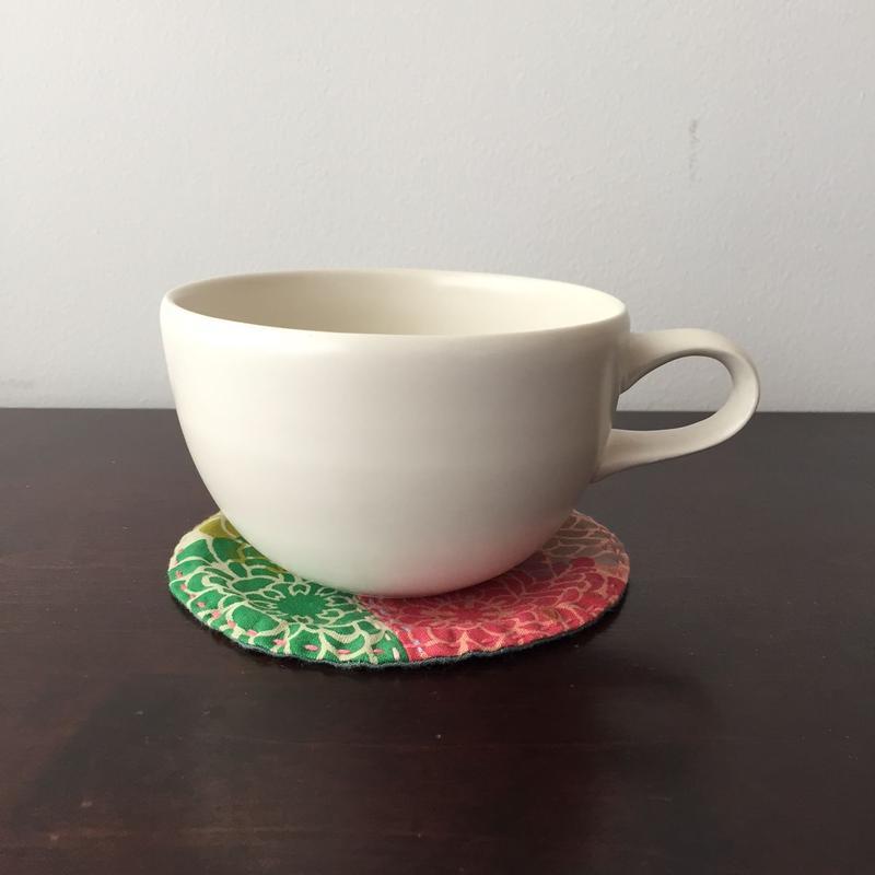 八重山陶磁 白マットスープカップ(磁器)/宮良断(アンパル陶房)