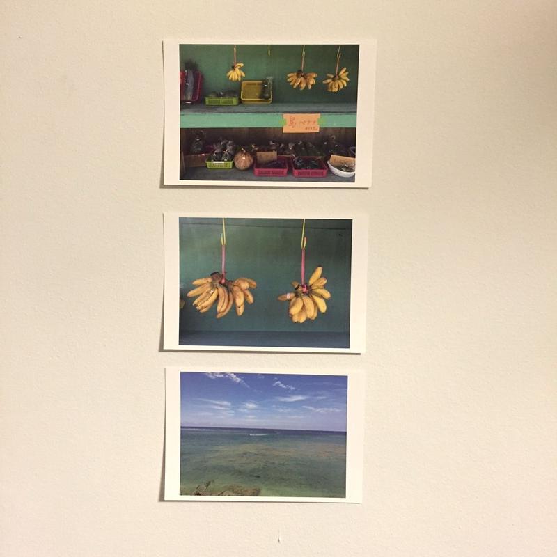 島バナナ・島やさい・海(沖縄ポストカード3点セット)