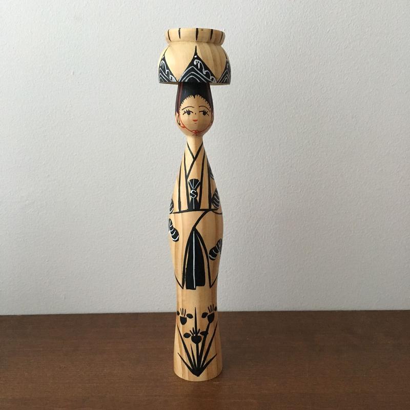 琉球みやらびこけし/四つ竹(琉球松)
