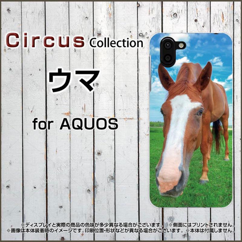 AQUOSシリーズ ウマ スマホケース ハードタイプ (品番caq-040)
