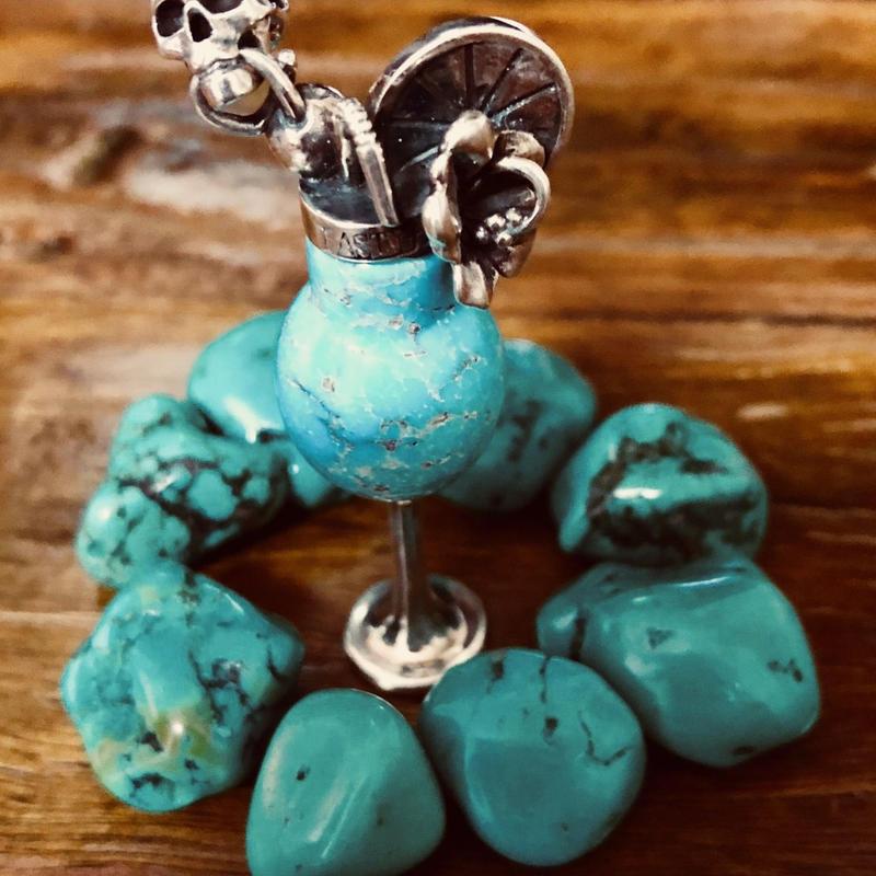Tropical cocktail pendant