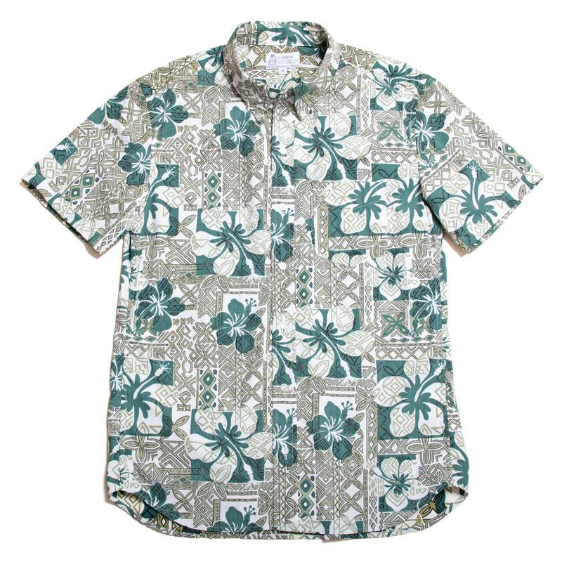 Men's Hawaiian Button Down Shirts - Hibiscus