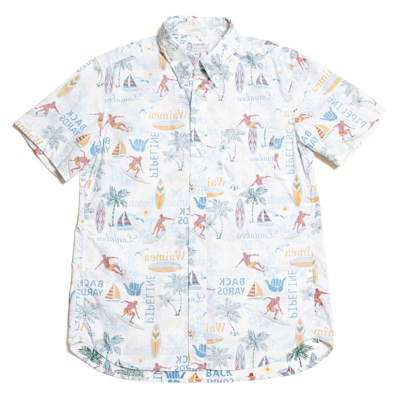 Men's Hawaiian Button Down Shirts - Surf Town