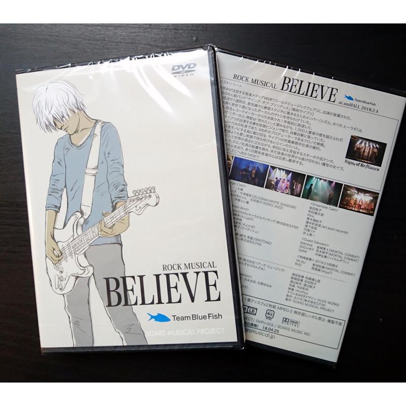 ROCK MUSICAL  BELIEVE BlueFish DVD