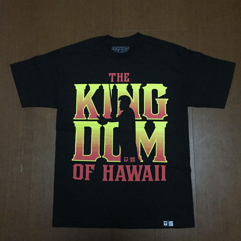 2018 MALAKI LINE【HAWAII'S FINEST】KINGDOM002 TEE