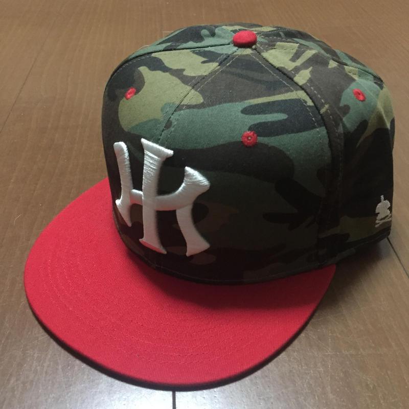 """POLY LOVE HAWAII """"KU"""" 7'5/8 FITTED HAT"""