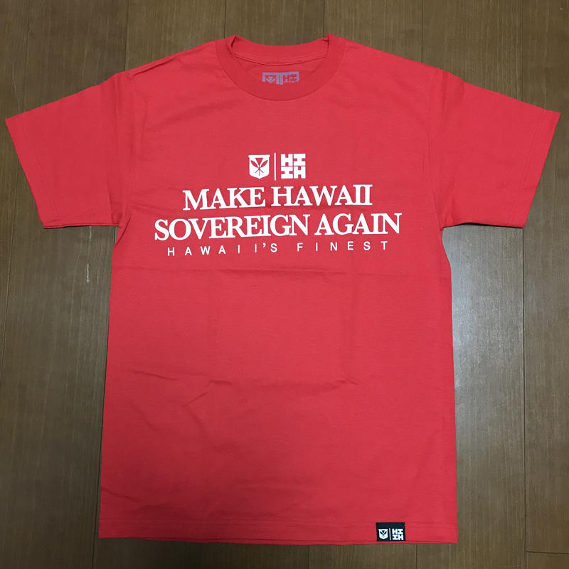 2019 PEPELUALI LINE【HAWAII'S FINEST】MAKE HI TEE001