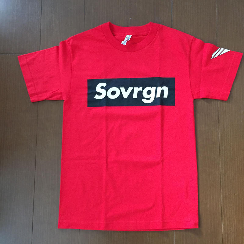 "SOVRGN ""BOX LOGO"" BRED GLOW TEE"