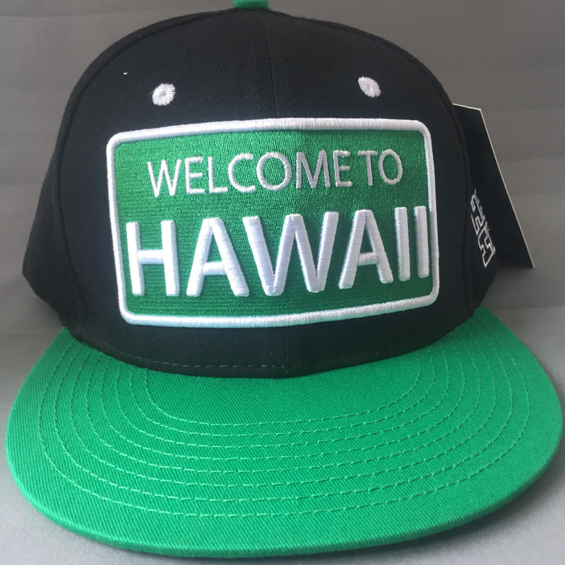 "HAWAII'S FINEST ""WELCOME TO HAWAII"" SNAP BACK HAT"