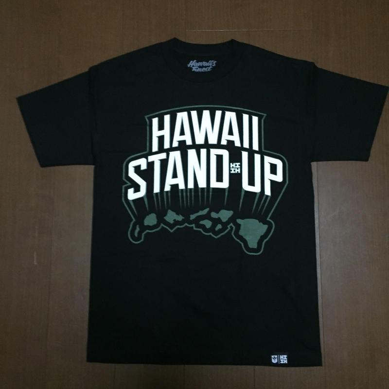 2018PEPELUALI LINE【HAWAII'S FINEST】STAND UP001 TEE