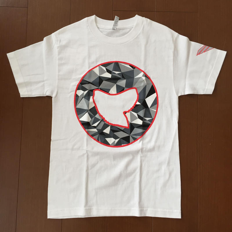 "SOVRGN ""BOX LOGO"" PRIZM SHARK TOOTH WHITE TEE"
