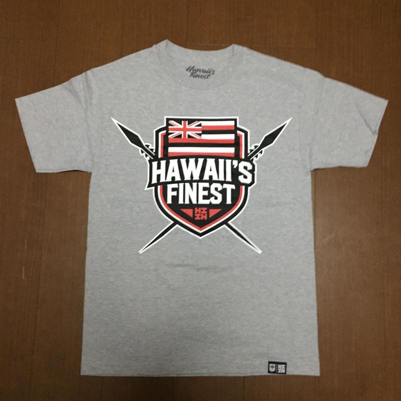 2018PEPELUALI LINE【HAWAII'S FINEST】SHIELD001 TEE
