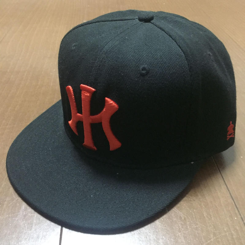 """POLY LOVE HAWAII """"NIGHT MARCHERS"""" SNAP BACK HAT"""