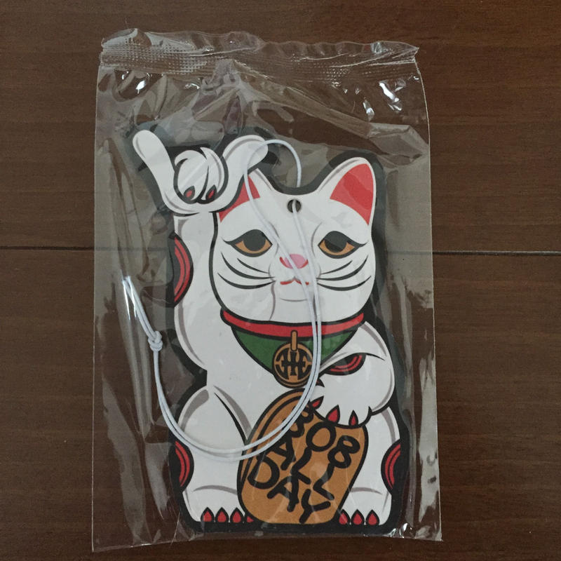 "808ALLDAY ""LUCKY CAT"" Air Freshner"