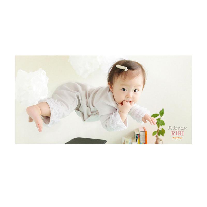 赤ちゃんの等身大ポスター A3ロング