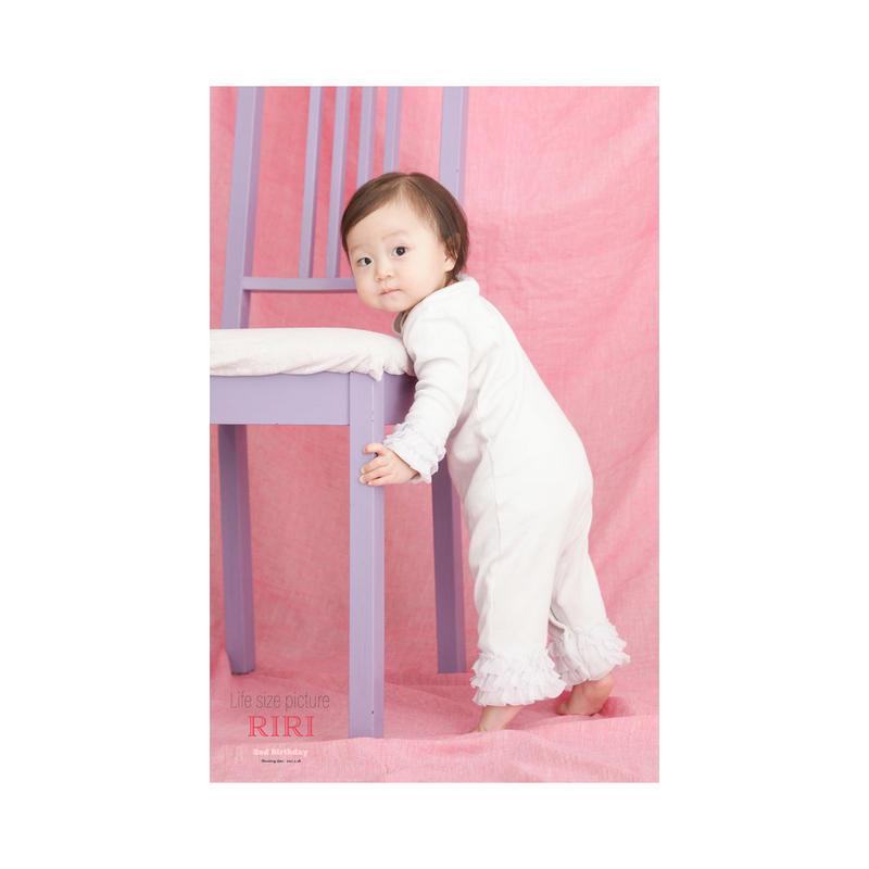 赤ちゃんの等身大ポスター B2ロングA