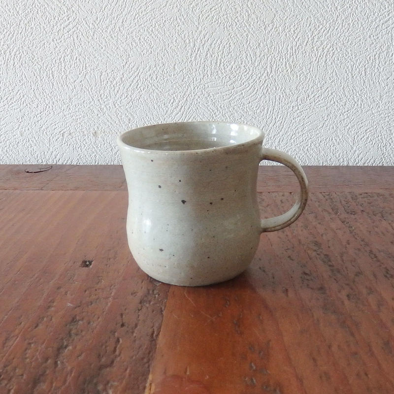 庄司理恵マグカップ 白