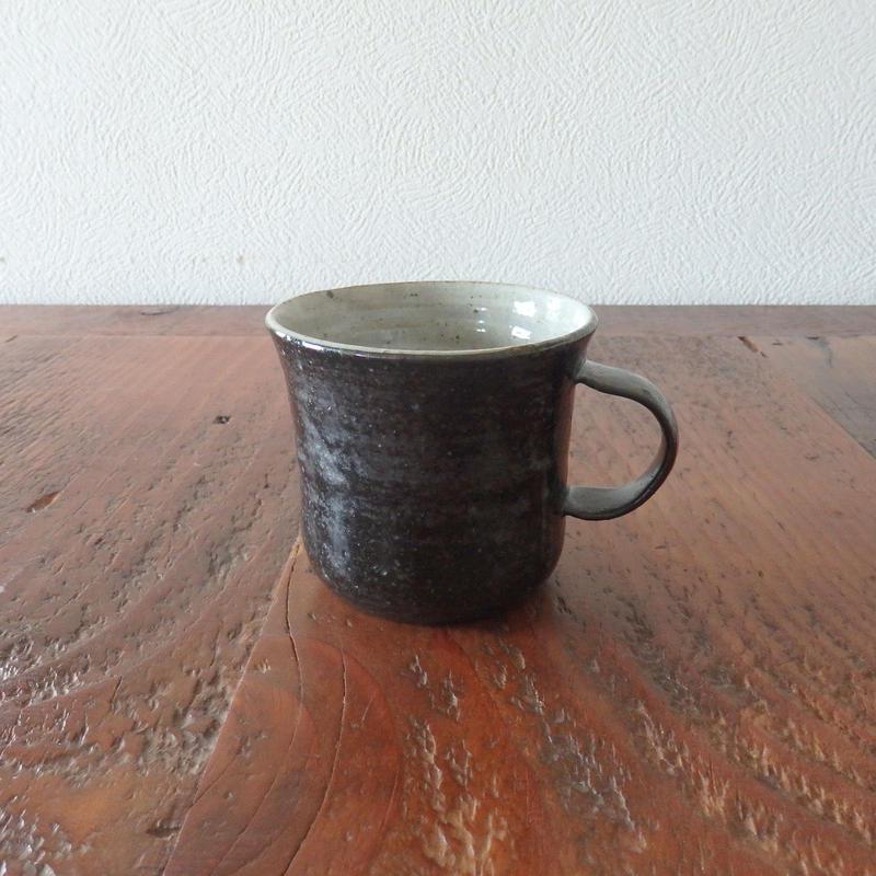 庄司理恵マグカップ 黒