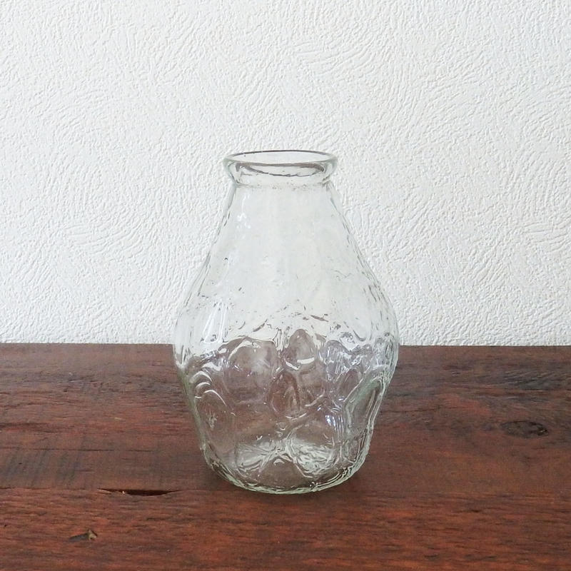吹きガラス工房 彩砂 アイスカット花瓶