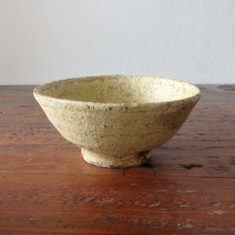 隆香窯 お茶椀 イエロー